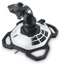 Джойстик Logitech EXTREME 3D PRO черный USB