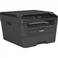 МФУ Brother DCP-L2520DWR лазерный принтер/сканер/копир, A4, 26 стр/мин, 2400x600 dpi, 32 Мб, дуплекс, подача: 251 лист., вывод: 100 лист., USB, Wi-Fi, ЖК-панель (старт.к-ж 700 стр)
