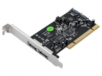 Контроллер ST-Lab A341 PCI-EX Serial ATA II w/Raid 2ext+2int  (SI3132) w/Cable ret