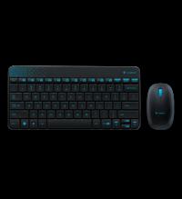 Клавиатура + мышь Logitech Wireless Combo MK 240 Nano White-red 920-008212
