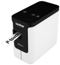 Принтер для наклеек Brother P-Touch PT-P700 (ленты TZe, HSe 3,5/6/9/12/18/24 мм, 30 мм/с, 180х360т/д, автообрез., печать ШК, USB2.0, БП, USB-кабель, ПО, лента 24мм/4м, замена PT-2430PC)