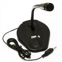 Микрофон Dialog М-104 Black (настольный)