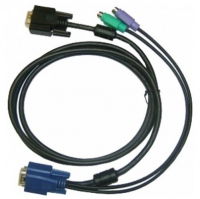 Кабель D-Link KVM-403, KVM 4-in-1 cable, 5m