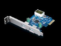 Адаптер D-Link DUB-1310 2-портовый USB 3.0 адаптер для шины PCI Express
