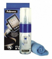 Чистящий набор (салфетки + спрей) Fellowes FS-99701 для экранов и оптики 125мл