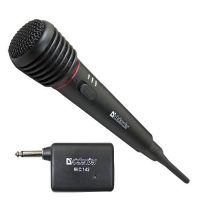 Микрофон Defender MIC-142 Беспроводной (пластик)