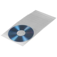 Конверт Hama на 1CD/DVD H-49995 белый (упак.:100шт)