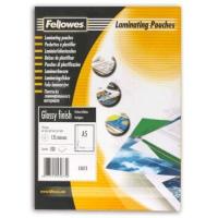 Пленка для ламинирования Fellowes, 125 мкм, A5 (154x216 мм), 100 шт., глянцевая (FS-53073)