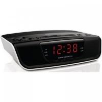 Радиочасы Philips Радиочасы Philips/ радиобудильник:2 сигнала, резервное питание, таймер отключения, красная подсветка