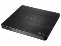 Оптич. накопитель ext. DVD±RW LG (HLDS) GP60NB60 Black (Slim, USB 2.0, Retail)
