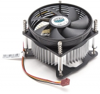 Кулер CPU Fan DP6-9GDSB-0L-GP для LGA1155/1156, TDP 66 Вт, 3 пин, вентилятор 95х95х30 мм