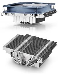 Кулер DeepCool GABRIEL (S1155/S1156/S1150/AM2/AM2+/AM3/AM3+/FM1/FM2/940/939/754) низкопрофильный