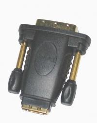 Переходник ORIENT C485, HDMI F - DVI M (24+5) (мама-папа)