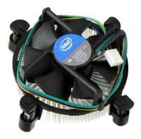 Устройство охлаждения(кулер) Intel LGA1156 (E97379-001), 4Pin, Алюминий Soc-1150/1155/1156/ 4pin Al OEM