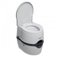 Биотуалет Thetford Porta Potti Excellence White (цвет белый, нижний бак 21л, верхний бак 15л, электрический насос, индикатор заполнения верхнего и ниж