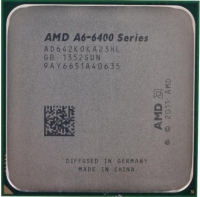 Процессор AMD A6 6420K Socket-FM2 (AD642KOKA23HL) (4.0/5000/1Mb/Radeon HD 8470D) OEM