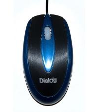 Мышь MOP-12BU Dialog Pointer Laser - 3 кнопки + ролик прокрутки, USB