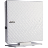 Оптический привод DVD±RW   ASUS  Slim External SDRW-08D2S-U LITE/DWHT/G/AS White