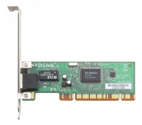 Сетевая карта D-LINK DFE-520TX/D1A 10/100Mbps PCI Ethernet адаптер, OEM