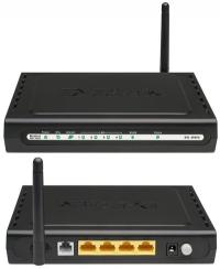 Модем D-Link DSL-2640U/RA/U1A Annex A 802.11n xDSL COM Firewall +Router