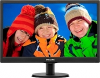 "Монитор Philips 19.5"" 203V5LSB26 (10/62) Glossy-Black TN LED 5ms 16:9 10M:1 200cd"