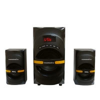 Колонки Dialog Progressive AP-210B BLACK - 2.1, 30W+2*15W RMS, Bluetooth, USB+SD reader