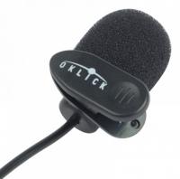 Микрофон проводной Oklick MP-M008 1.8м черный