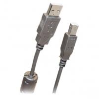 Кабель USB 2.0 AM/BM 1.8m 1 кольцо, Belsis BW1411