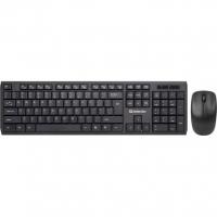 Клавиатура + Мышь Defender Harvard C-945, B (Черн) Кл:104+12 М:3кн,