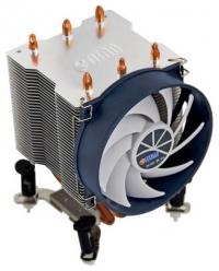 Вентилятор Titan TTC-NK35TZ/R(KU) Soc-1155/775/AM3+/FM1/FM2 3pin 21dB Al+Cu 140W 540g клипсы Z-AXIS