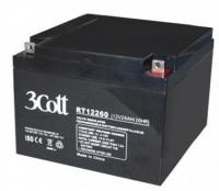 Аккумулятор 3Cott 12V26Ah