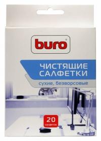 Салфетки Buro BU-Udry для удаления пыли коробка 20шт сухих