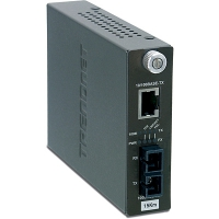 TRENDNET TFC-110S15i, Intelligent 10/100Base-TX to 100Base-FX Single Mode SC Fiber Converter (15KM)