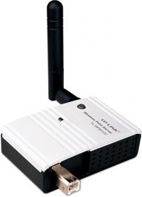 Принт-сервер TP-Link TL-WPS510U Беспроводной компактный принт-сервер, скорость до 150 Мбит/с
