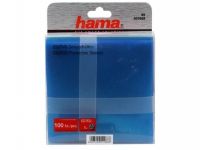 Конверты для CD, пластиковые, разноцветные, 100шт , HAMA  H-51068