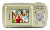 "Фотоаппарат Rekam iLook S750i золотистый 12Mpix 1.8"" SD CMOS/AAA"