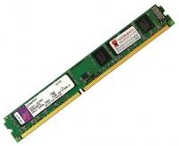 Модуль памяти DDR3 2Gb 1600MHz Kingston KVR16N11S6/2 RTL PC3-12800 CL11 DIMM 240-pin 1.5В