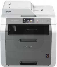МФУ Brother DCP-9020СDW цветной светодиодный принтер-сканер-копир, A4, 18стр/мин, дуплекс, ADF, 192Мб, USB, LAN, WiFi (замена DCP-9010CN)