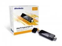 Тюнер-ТВ/FM Avermedia AVerTV Hybrid Volar T2 внешний USB/RCA PDU HomeFreeTV APP Available!