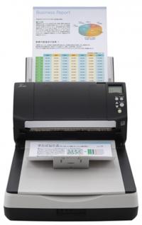 Сканер Fujitsu fi-7260 (протяжный+планшет, CCD, A4, длинный документ до 210x5588 мм, 600 dpi, до 60 стр./120 изображений в мин, ADF 80 л., Duplex, до 4000 стр./день, 1 год гарантии)