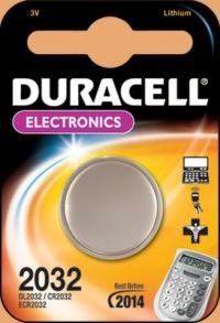 Батарея Duracell DL2032 CR2032 (1шт)
