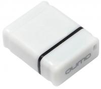 Носитель информации USB 2.0 QUMO 4GB NANO QM4GUD-NANO-W White