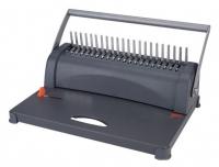 """Переплетчик Office Kit B2108 A4/перф.8л.сшив./макс.350л./пластик.пруж. (6-38мм) дырокол 4 отверстия под папки типа """"корона"""""""