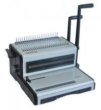 Переплетчик Office Kit B2112 A4/перф.12л.сшив./макс.250л./пластик.пруж. (6-28мм)