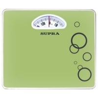 Весы напольные механические Supra BSS-4060 зеленый/рисунок макс.130кг