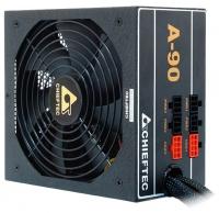 Блок питания  Chieftec 650W Retail GDP-650C МОДУЛЬНЫЙ, v.2.3/EPS, КПД >90%,  A.PFC, 2x PCI-E (6+2-Pin), 6x SATA, 3x MOLEX, Fan 14cm